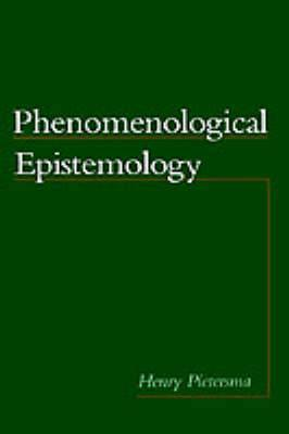 Phenomenological Epistemology