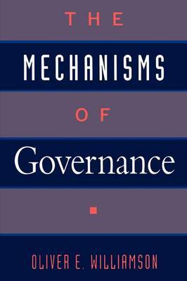 The Mechanisms of Governance