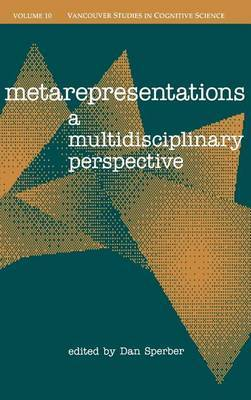Metarepresentations: A Multidisciplinary Perspective