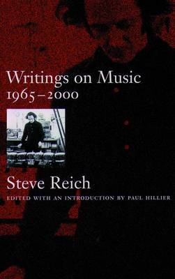 Writings on Music: 1965-2000