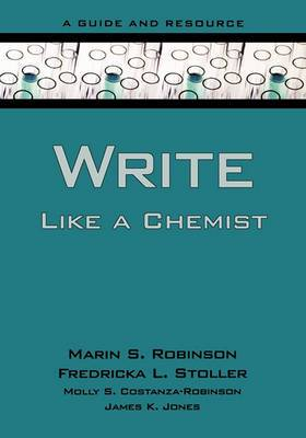 Write Like a Chemist: A Textbook and Resource