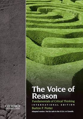The Voice of Reason: Fundamentals of Critical Thinking
