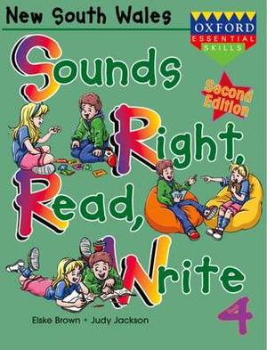 Sounds Right, Read, Write New South Wales: Book 4