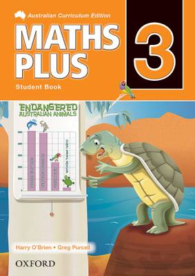 Maths Plus Australian Curriculum Edition Student Book 3
