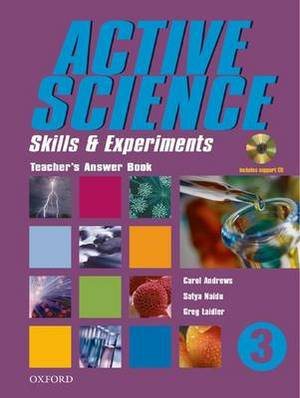 Active Science 3 Teacher's Answer Book + CD: Skills And Experiments: Bk. 3: Teacher's Answer Book