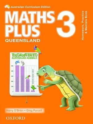 Maths Plus QLD Australian Curriculum Edition Mentals, Practice and Homework 3