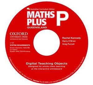 Maths Plus Queensland Australian Curriculum Interactive Teaching CD-ROM Prep
