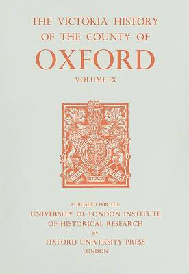 A History of the County of Oxford: v. 9: Bloxham Hundred