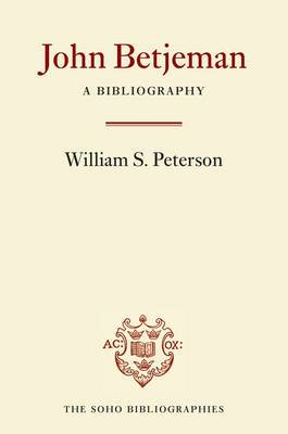John Betjeman: A Bibliography