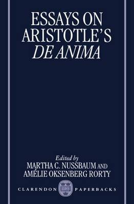 Essays on Aristotle's  De Anima