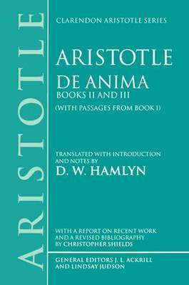 De Anima: Books II and III (with passages from Book I)