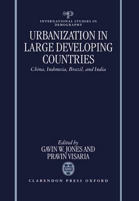 Urbanization in Large Developing Countries: China, Indonesia, Brazil and India