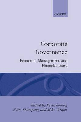 Corporate Governance: Economic and Financial Issues