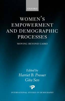 Women's Empowerment and Demographic Processes: Moving Beyond Cairo