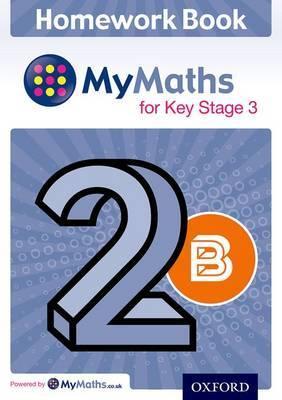 My Maths for KS3 Homework Book 2B Single