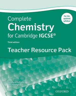 Complete Chemistry for Cambridge IGCSE  (R) Teacher Resource Pack