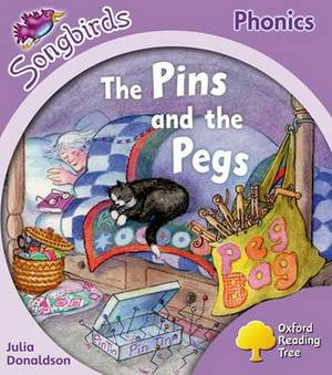 Oxford Reading Tree: Level 1+: More Songbirds Phonics: The Pins and the Pegs