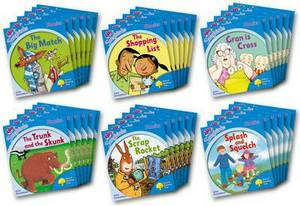 Oxford Reading Tree Songbirds Phonics: Level 3: Class Pack of 36