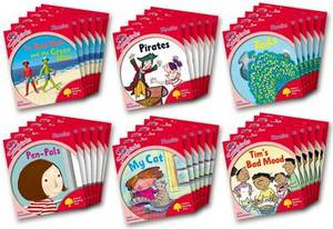 Oxford Reading Tree: Level 4: More Songbirds Phonics: Class Pack (36 Books, 6 of Each Title)