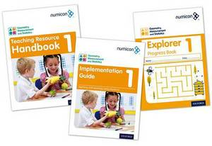 Numicon: Geometry, Measurement and Statistics 1 Easy Buy Pack
