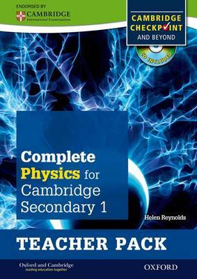 Complete Physics for Cambridge Secondary 1 Teacher Pack: For Cambridge Checkpoint and Beyond