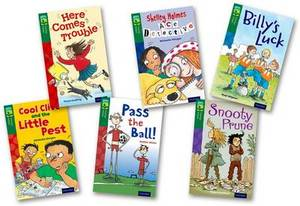 Oxford Reading Tree TreeTops Fiction: Level 12 More Pack A: Pack of 6