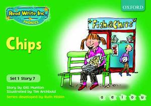 Read Write Inc. Phonics: Green Set 1 Storybooks: Chips