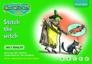 Read Write Inc. Phonics: Green Set 1 Storybooks: Switch the Witch