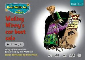 Read Write Inc. Phonics: Grey Set 7 Storybooks: Wailing Winny's Car Boot Sale