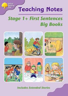 Oxford Reading Tree: Level 1+: First Sentences: Big Book Teaching Notes