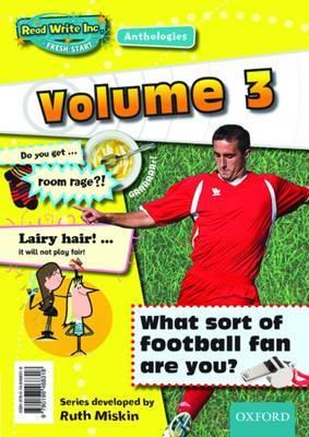 Read Write Inc.: Fresh Start Anthologies: Volume 3