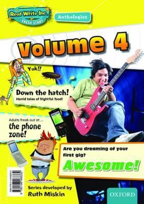 Read Write Inc.: Fresh Start Anthologies: Volume 4