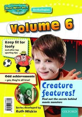 Read Write Inc.: Fresh Start Anthologies: Volume 6