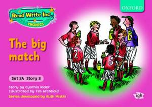 Read Write Inc. Phonics: Storybooks Set 3A (Pink): Mixed Pack of 5 (1 of Each Title)