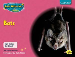 Read Write Inc. Phonics: Non-fiction Set 3 (Pink): Bats