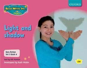 Read Write Inc. Phonics: Non-fiction Set 3 (Pink): Light and Shadow