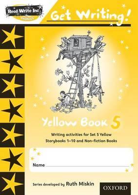 Read Write Inc. Phonics: Get Writing!: Yellow 5 Pack of 10