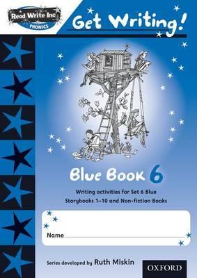 Read Write Inc. Phonics: Get Writing!: Blue 6 Pack of 10