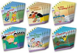 Oxford Reading Tree: Level 1+: Decode and Develop: Class Pack of 36