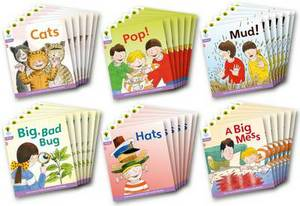 Oxford Reading Tree: Level 1+: Floppy's Phonics Fiction: Class Pack of 36