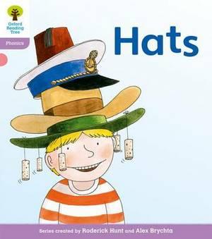 Oxford Reading Tree: Level 1+: Floppy's Phonics Fiction: Hats