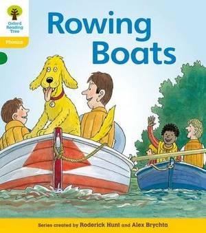 Oxford Reading Tree: Level 5: Floppy's Phonics Fiction: Rowing Boats