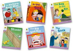 Biff, Chip and Kipper Stories Decode and Develop More A Level 1+ Pack of 6