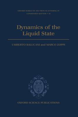 Dynamics of the Liquid State