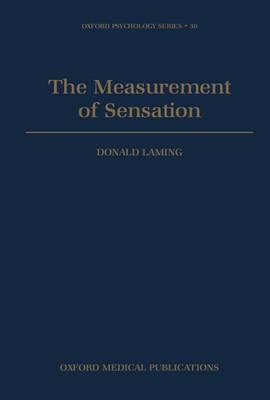 The Measurement of Sensation