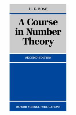A Course in Number Theory