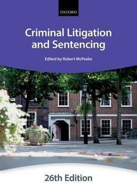 Criminal Litigation & Sentencing