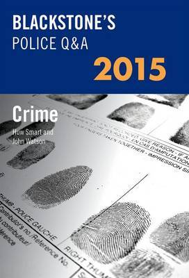 Blackstone's Police Q&A: Crime 2015