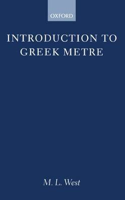 Introduction to Greek Metre