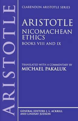 Aristotle: Nicomachean Ethics, Books VIII and IX